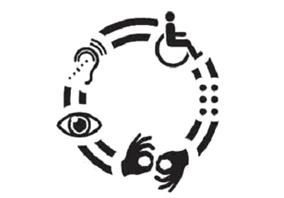 Invalid, slep, gluv, nem, kolica