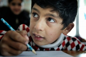 roma children at school