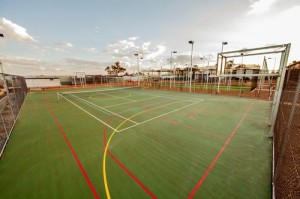 multifunctional sport pitch