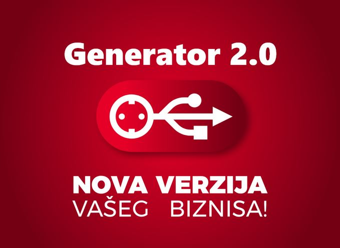 Počinje konkurs Generator 2.0